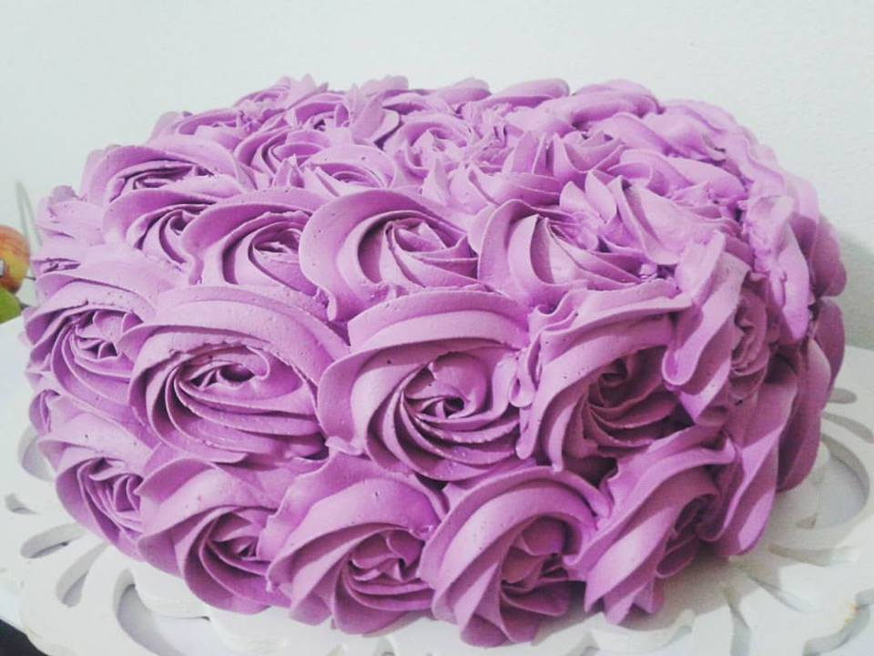 Bolo Decorado Chantilly Rosas No Elo7 Carol Berti 86e6e4