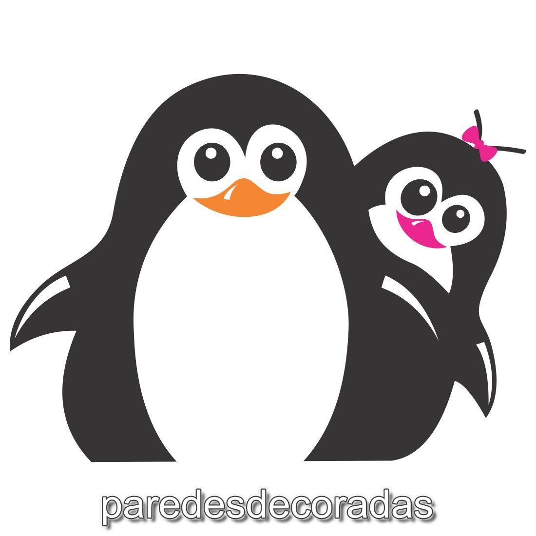 Adesivo De Geladeira Casal De Pinguins No Elo7 Adesivos De