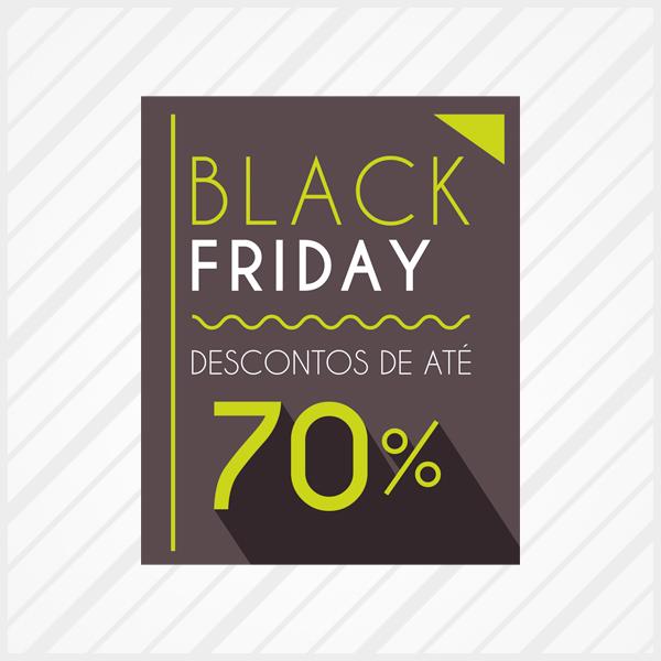 5b8396955 Adesivo de Vitrine Black Friday Neon no Elo7