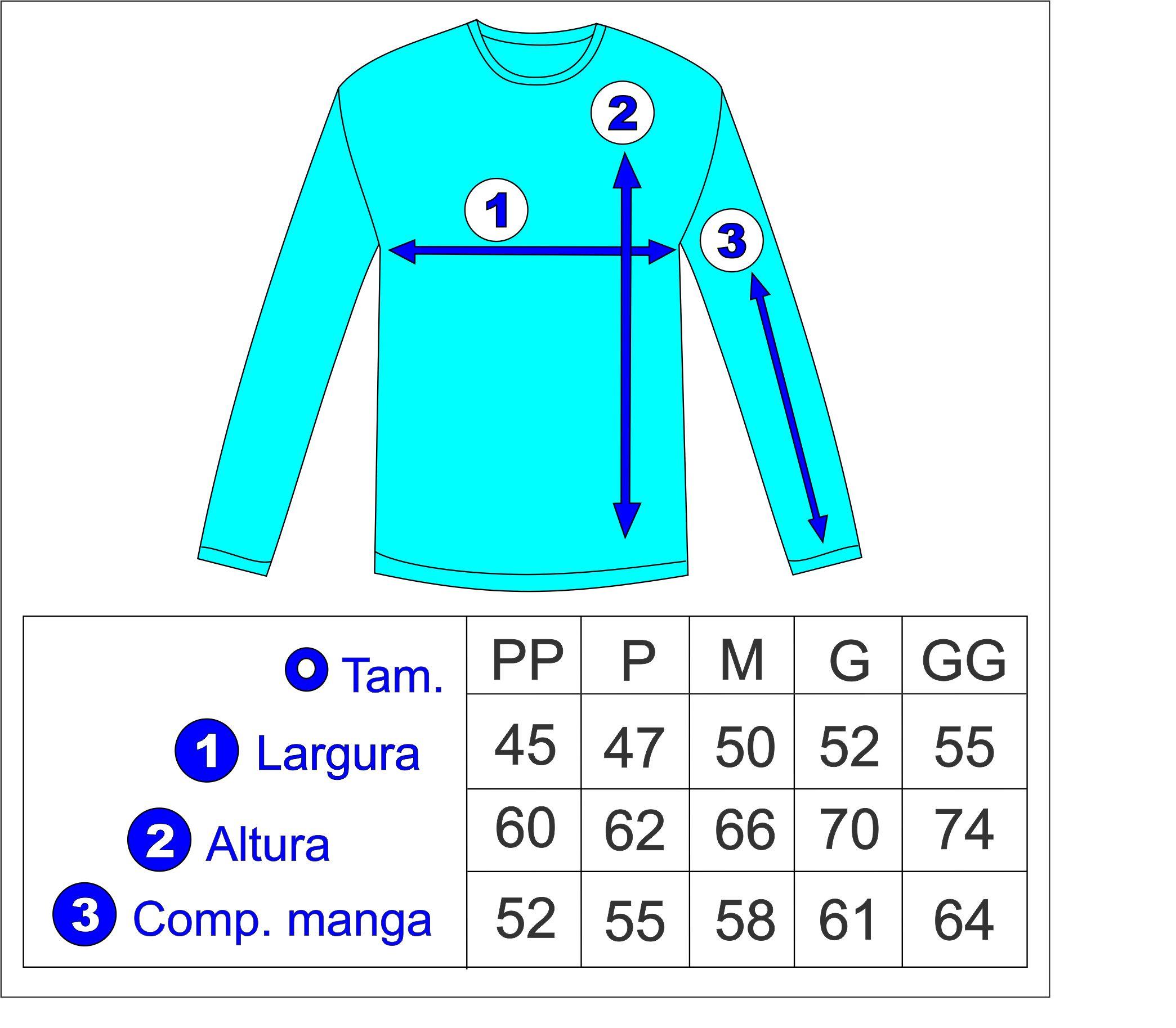 5b3ebf20b05fc Camisa Manga Longa Adulto c  Proteção UV no Elo7   Ademir de Almeida Leite  (87A0BD)