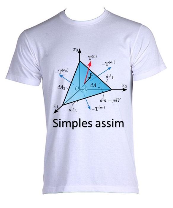 174261af9 Camiseta Allsgeek Fisica - 01 no Elo7