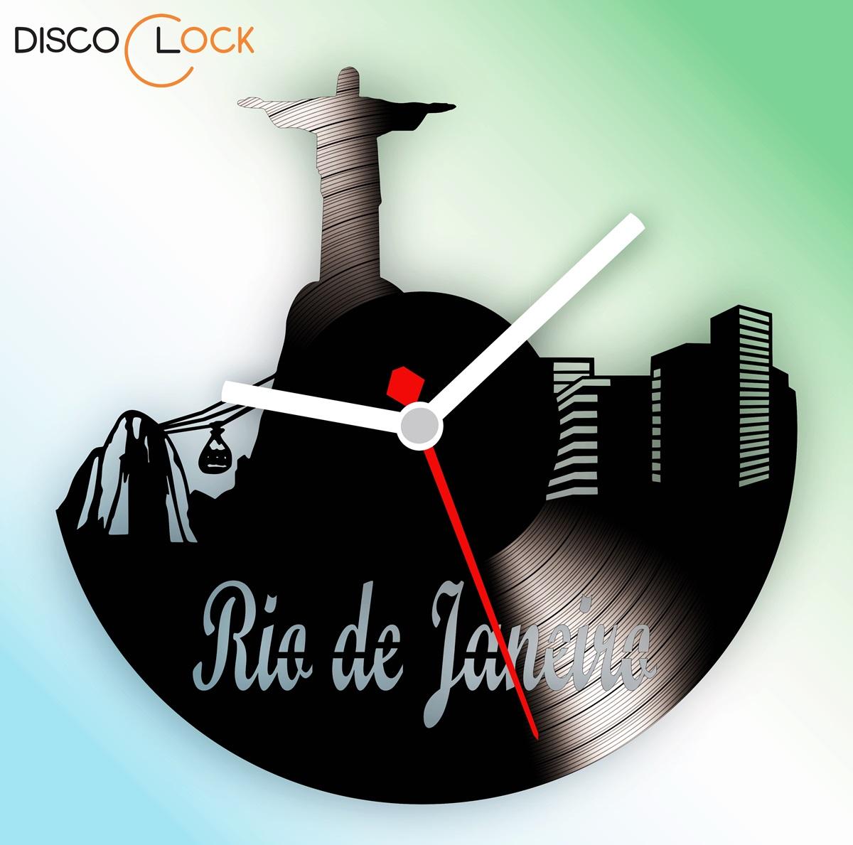 5c336f611af Rio de Janeiro Quadro Disco de Vinil