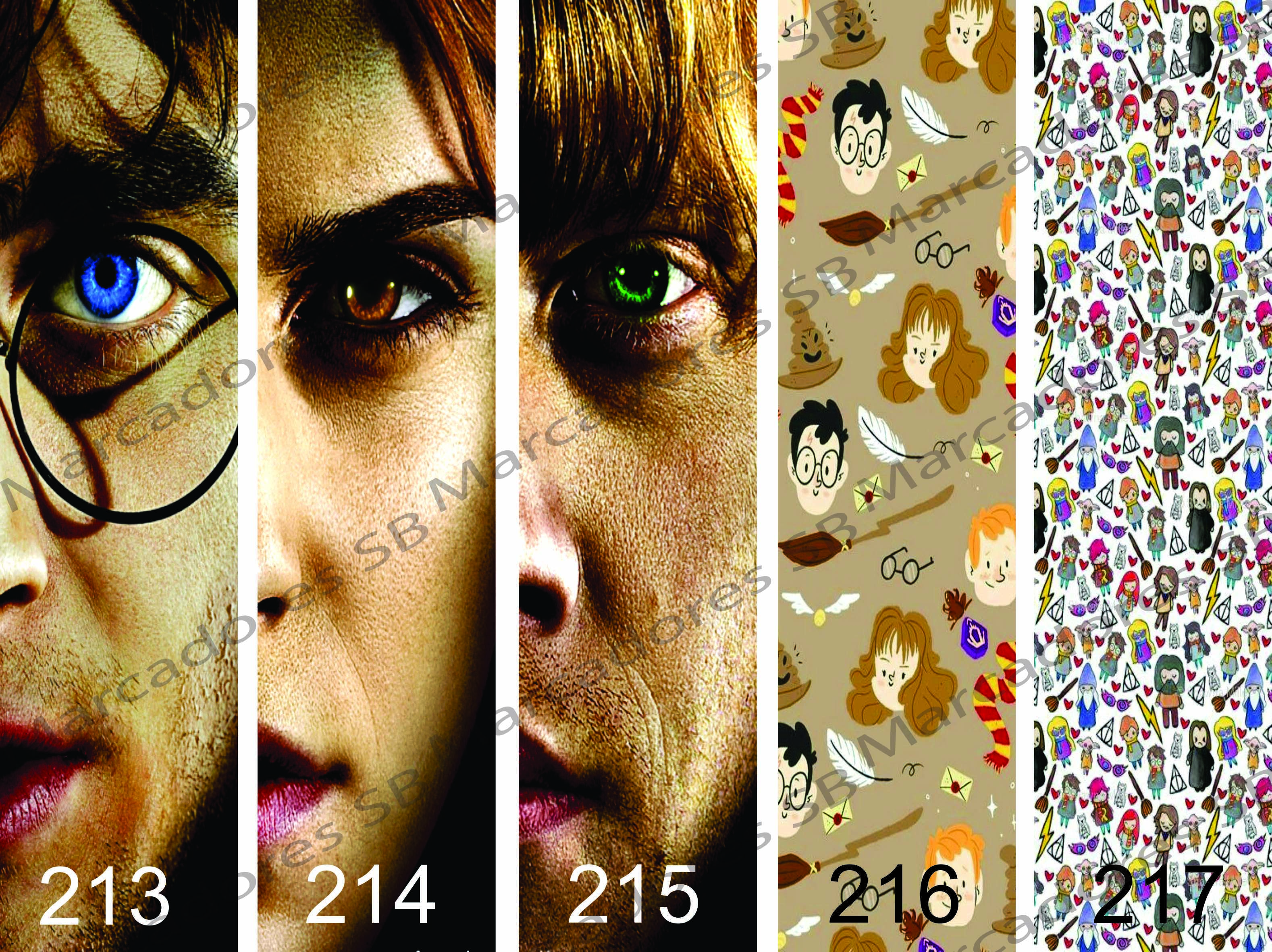 Marcadores De Paginas Harry Potter No Elo7 Sb Artes 82dd61