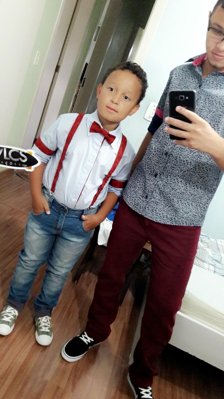 6d8edb7e15 Camisa infantil menino com acessórios no Elo7