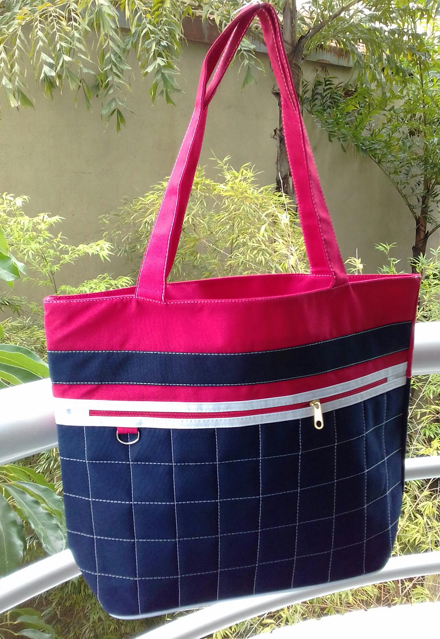 426a32c35c Bolsa feminina artesanal em tecido no Elo7