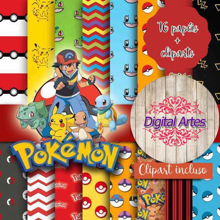 a2e9e69af4 Fundos Papel Digital Pokemon