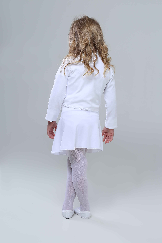 9fb5446fcb Roupa Ballet Infantil Completa Branca no Elo7