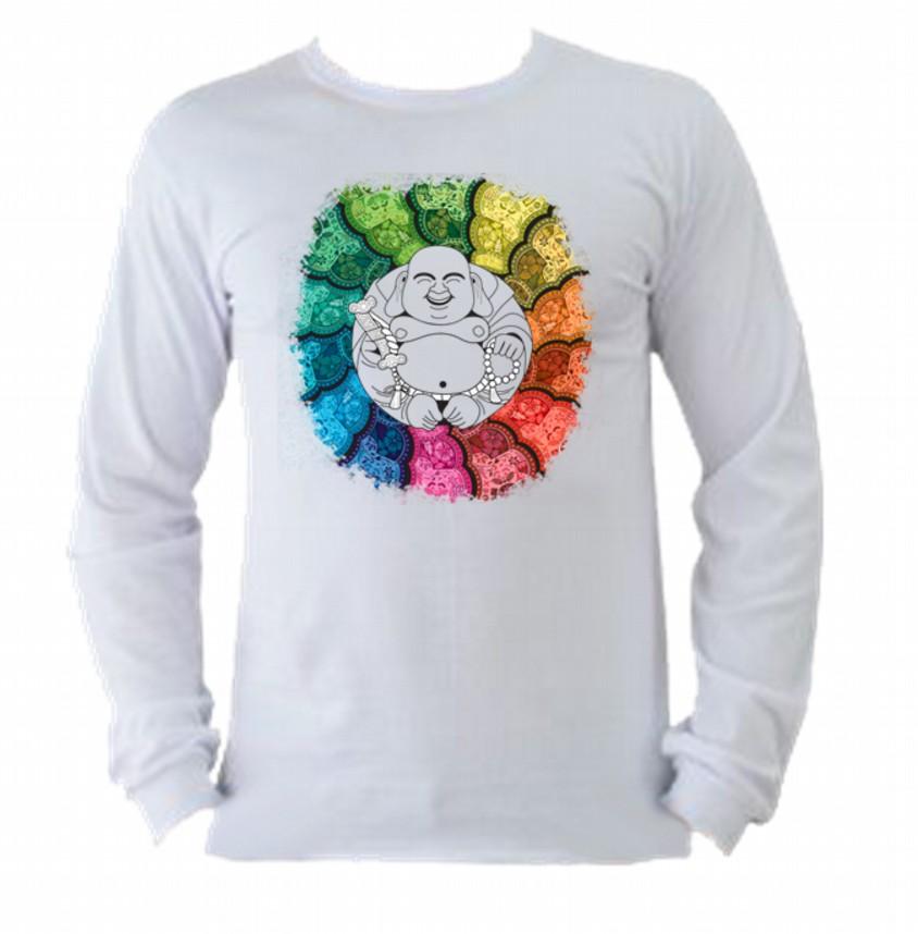 Camiseta India Manga Longa 2  b99847c46eb40