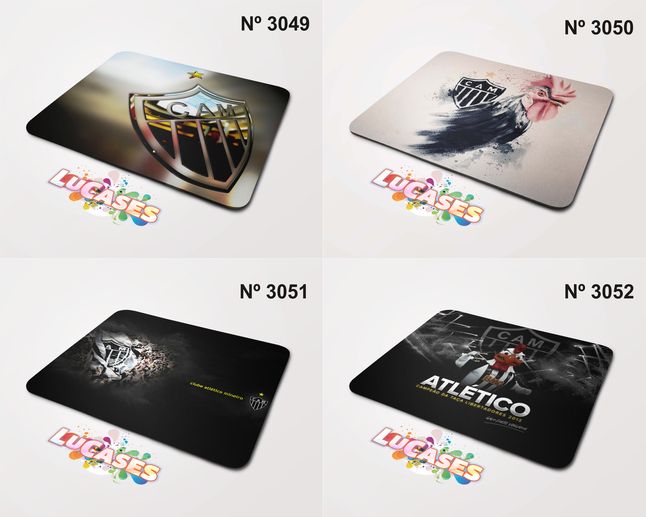 638c71bfb3 Mouse Pad Fluminense Tricolor Fluzao Flu
