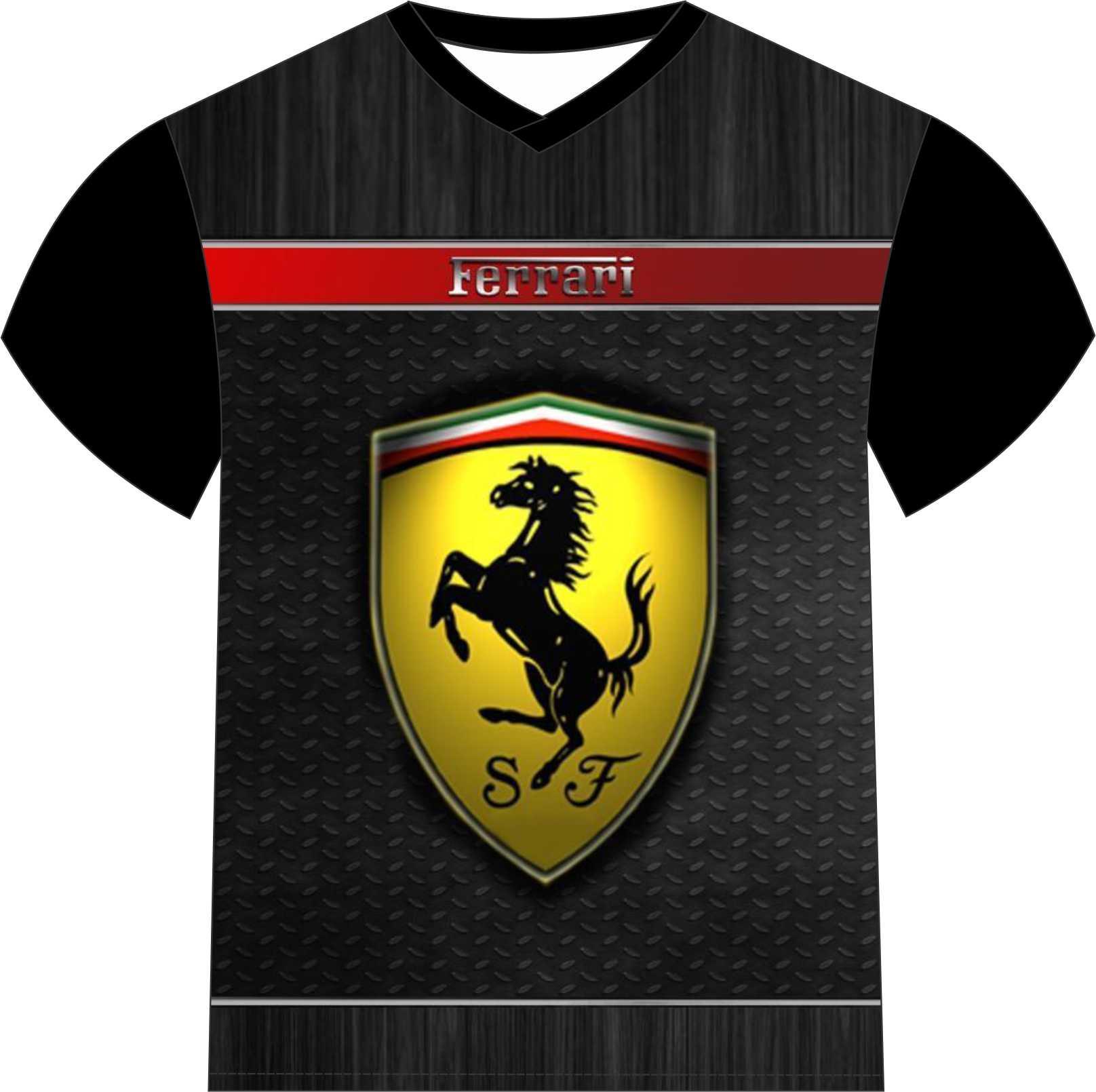 Camiseta Ferrari F1  f0ead27335b02