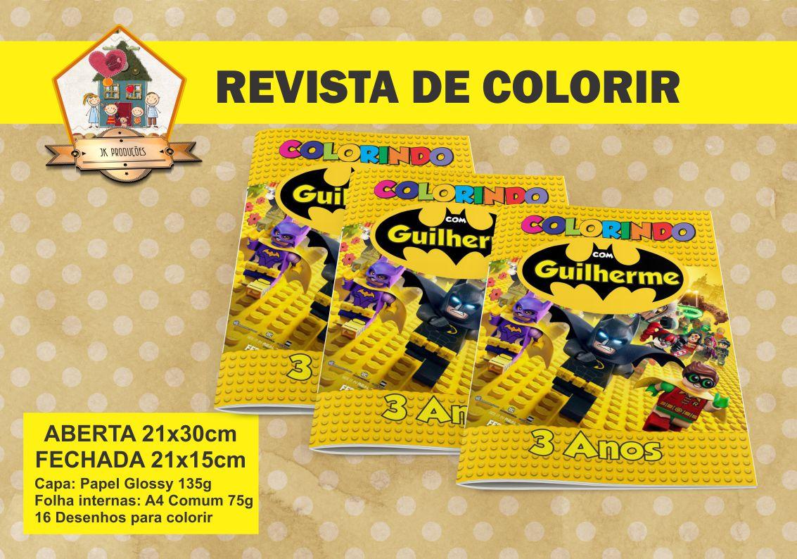 Estojo Para Kit Pintura Batman Lego No Elo7 Jk Producoes A0de3a