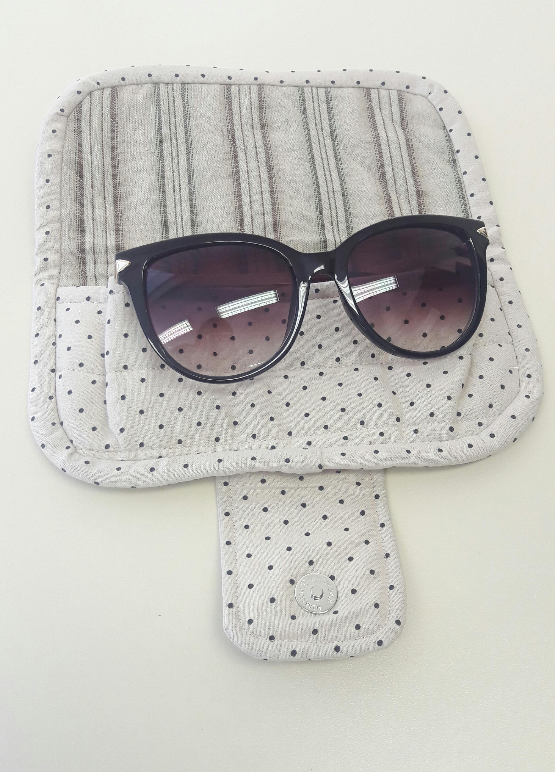 bfacedc04a90b Capa para óculos de sol no Elo7