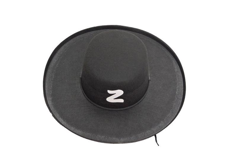 c3de80e56e2d1 Chapeu do Zorro carnaval no Elo7