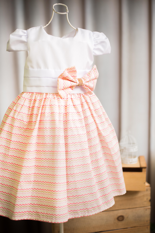 4a044589f6 Vestido Infantil para Casamento no Elo7