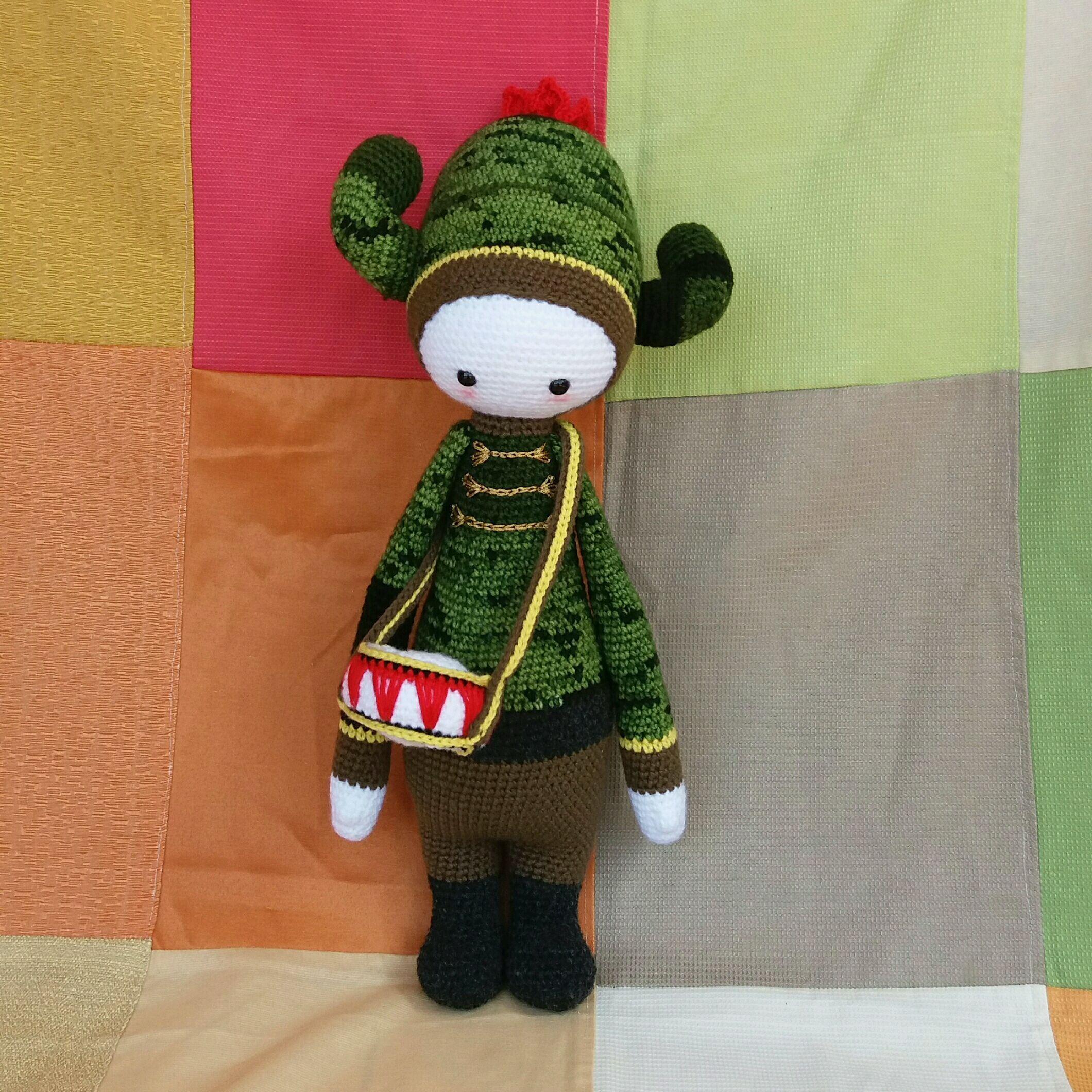 Patrón gratis en español. Lalylala. | Bonecas de crochê, Amigurumi ... | 2120x2120
