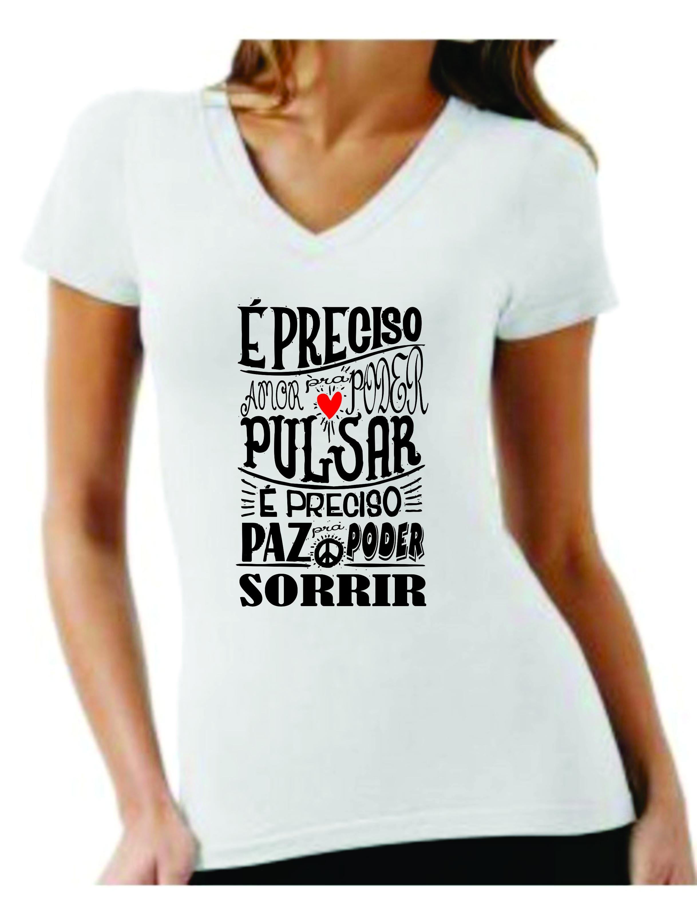 0db113446 Camiseta personalizada com frases no Elo7