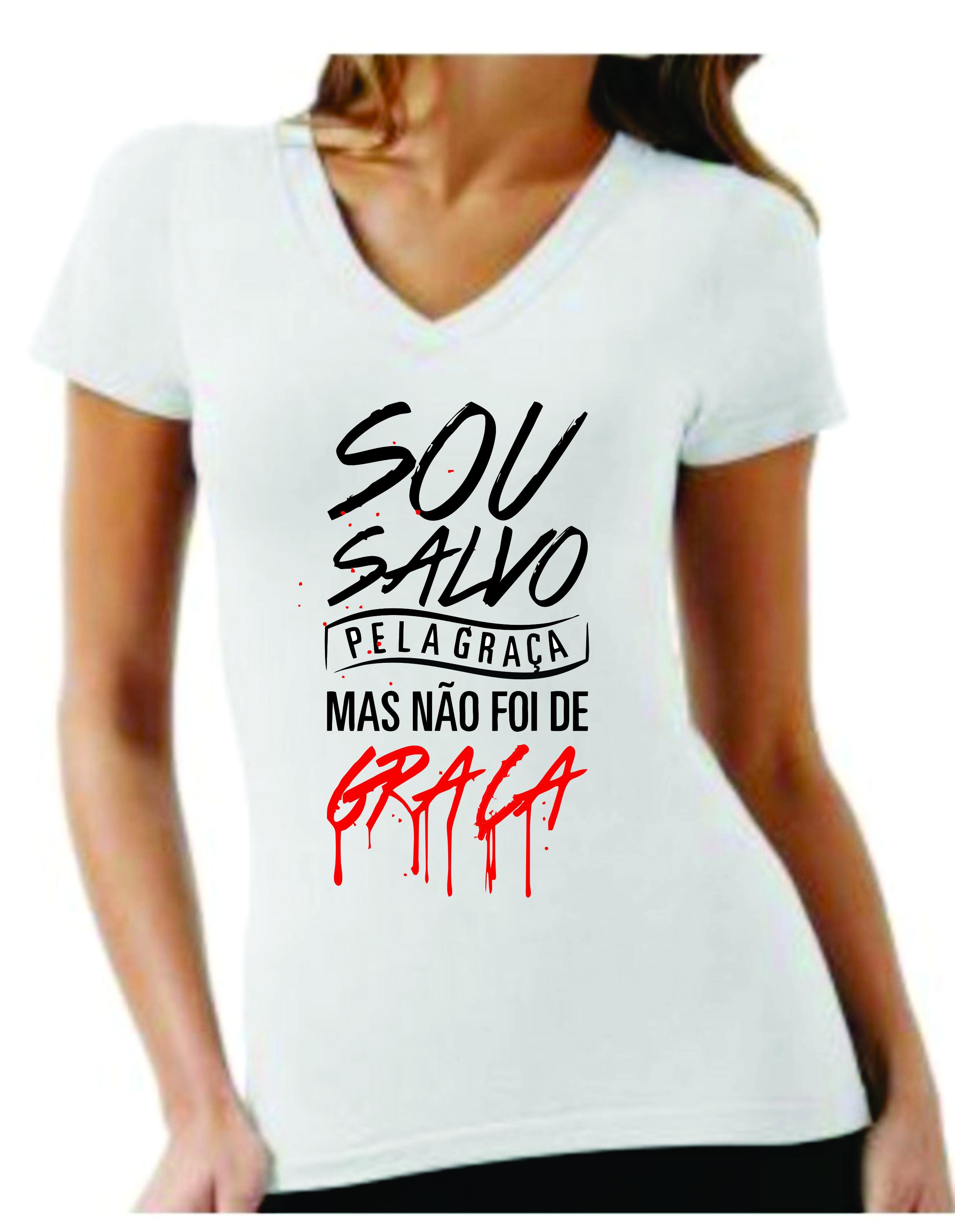 4da1f8da9 Camisa Personalizada frases evangélicas MMP Artes