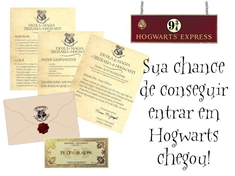 Terkini Carta De Admissão Hogwarts