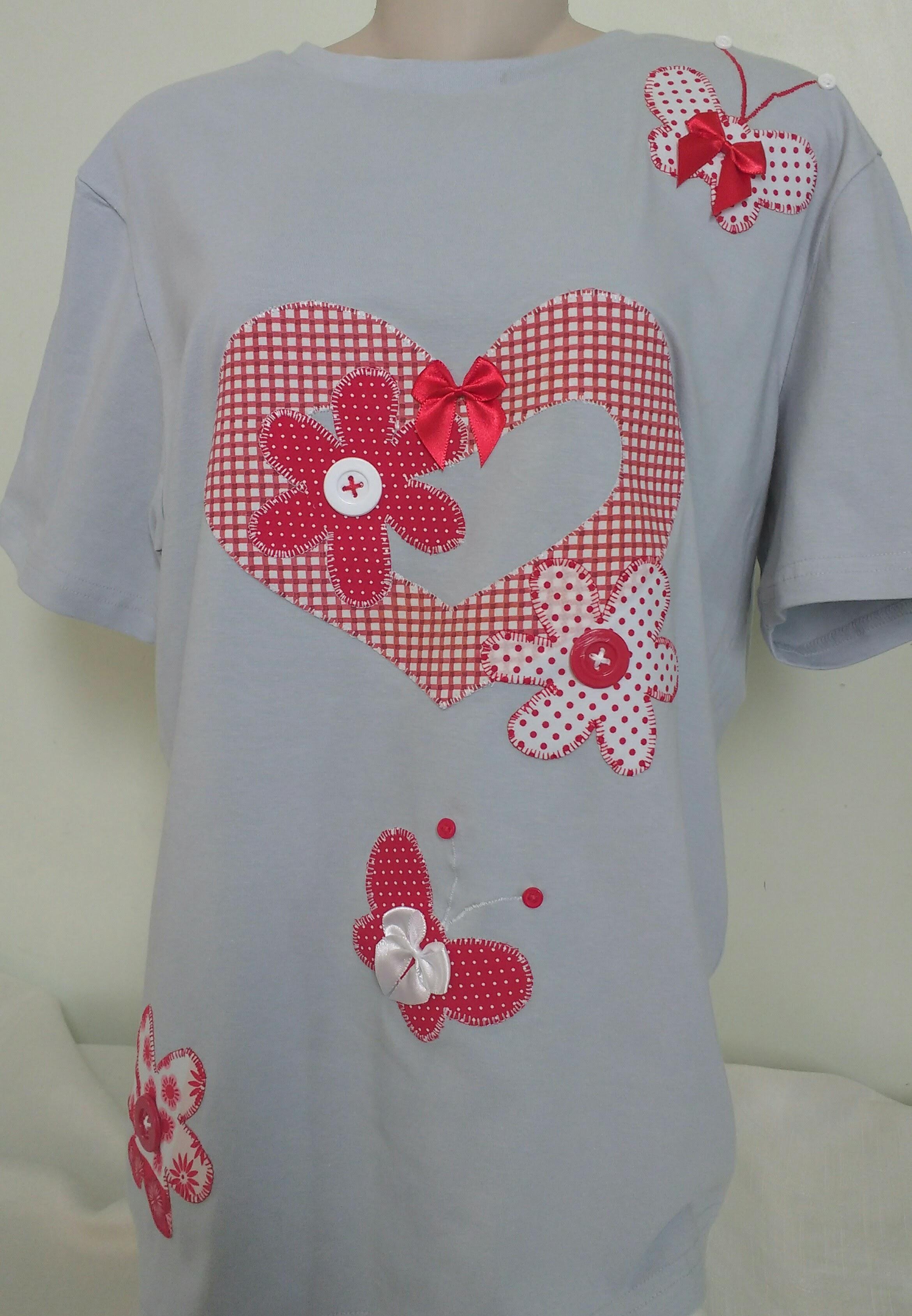 Camiseta 2 Flores  5bb40336c80d0