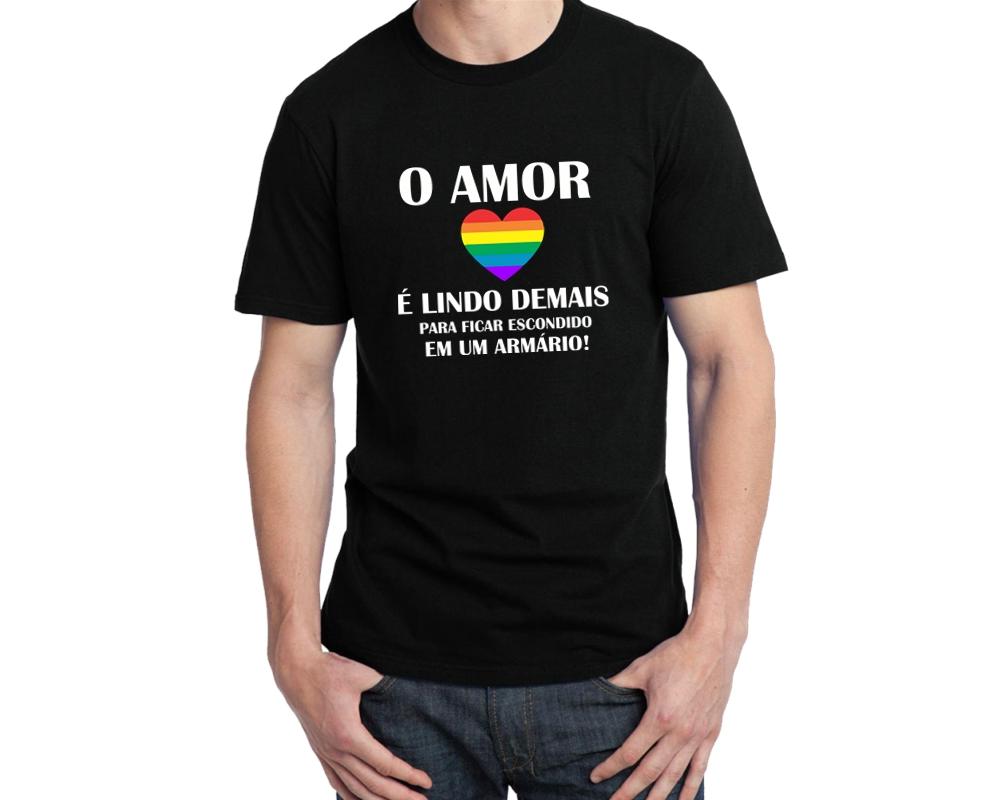 Camisa Lgbt o Amor  f911e3e0ef969