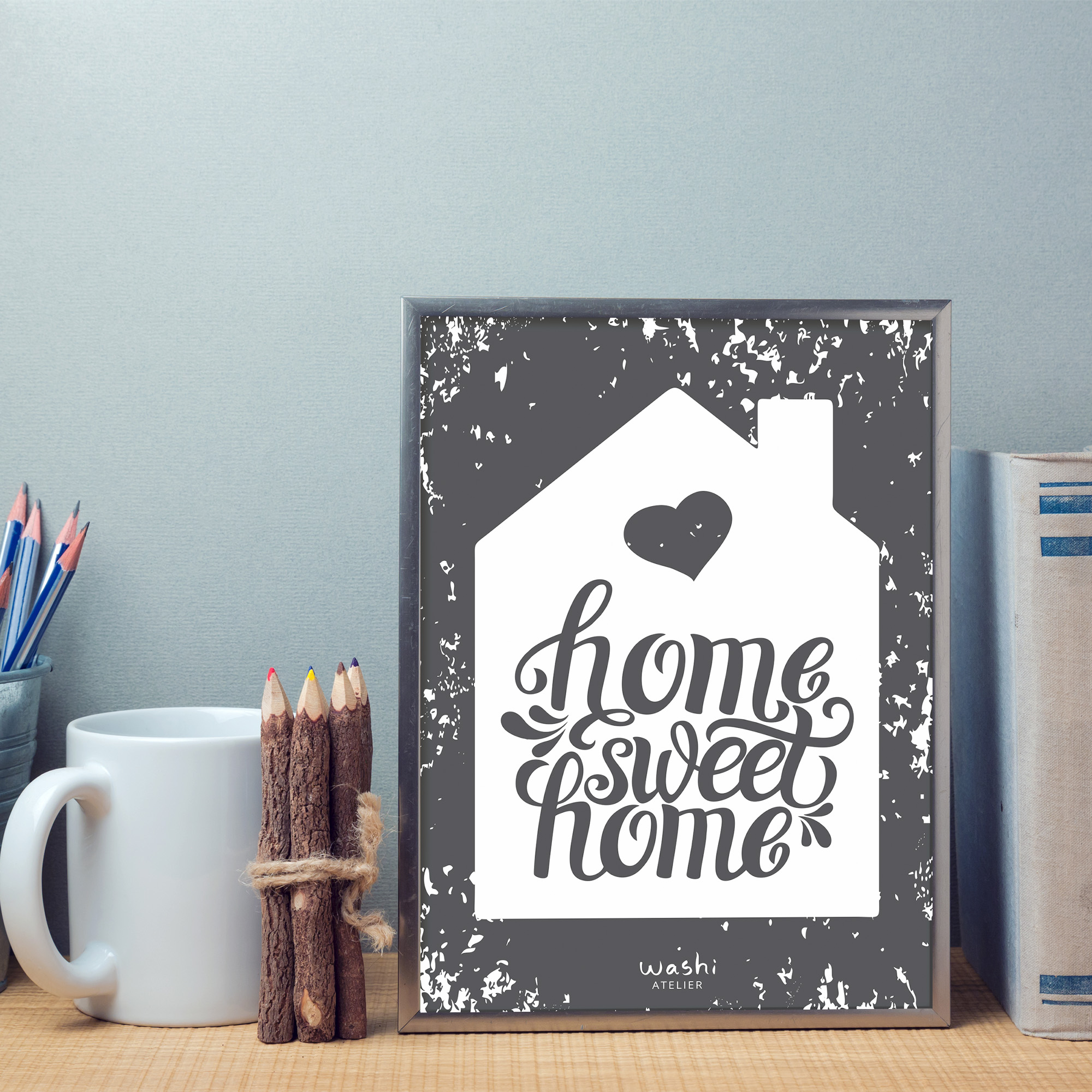 Poster Home Sweet Home | Elo7