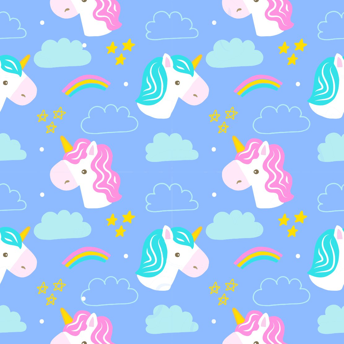Papel parede de unicornio for Papel de pared infantil