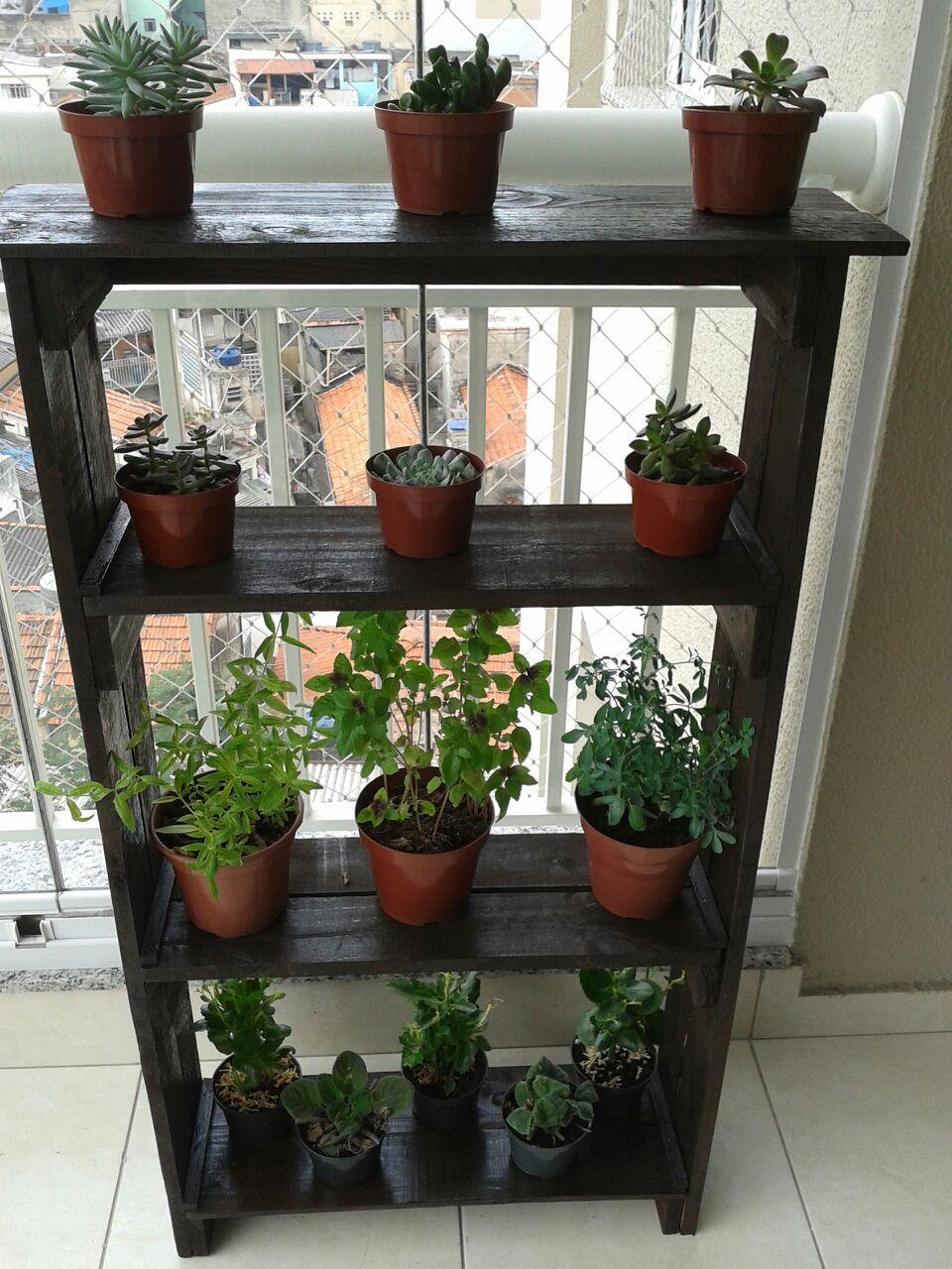 Estantes para plantas exhibidor estanteria plantero for Estanteria plantas interior