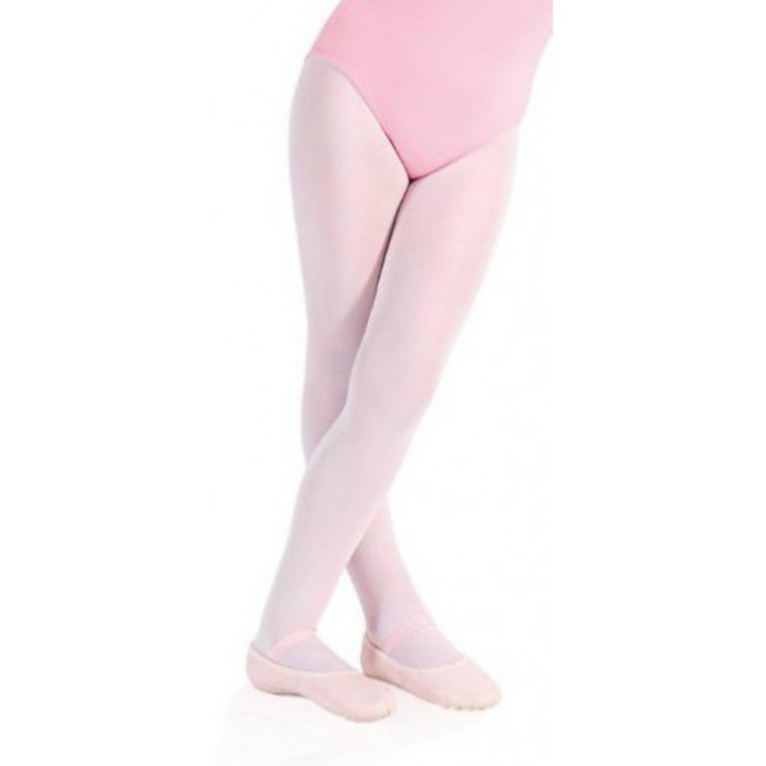 0996cbcc09 Meia Calca de Ballet Rosa   Elo7