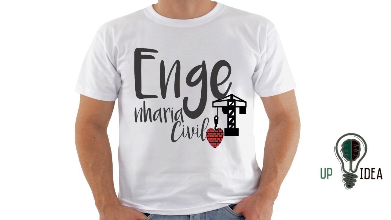 Camiseta Engenharia Civil Elo7