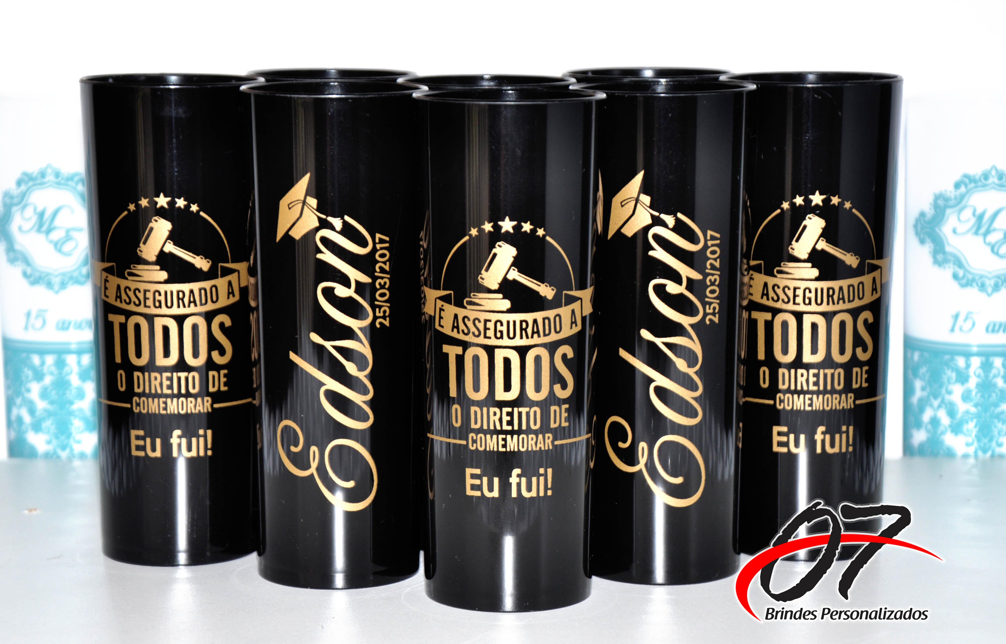 Adesivo De Chão Personalizado Sp ~ Formatura Copo Personalizado, Long Drink 07 Brindes Personalizados Elo7