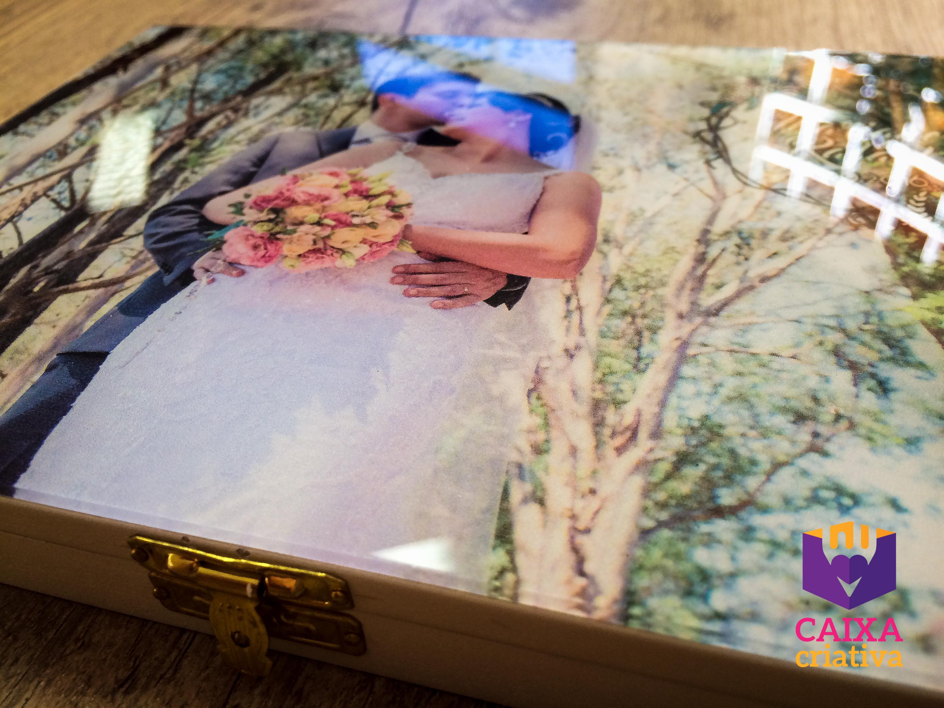 Estojo Pen Drive DVD com tampo acrílico no Elo7   CaixaCriativa (8CDF69) 364cda833d