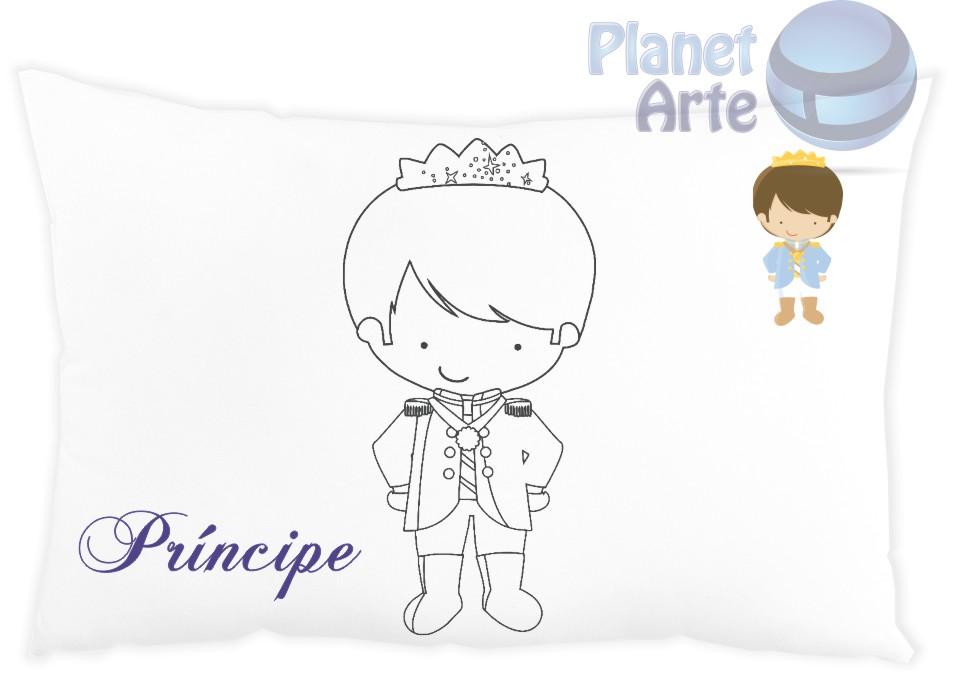 almofada pra colorir príncipe e princesa no elo7 planet arte 619bd1