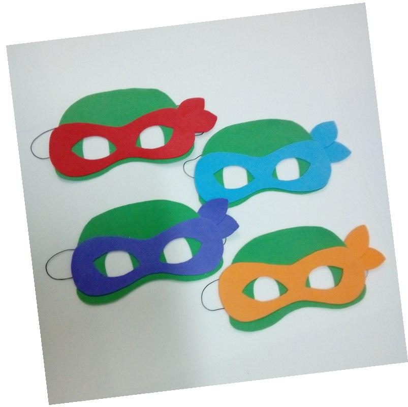 Mascaras Das Tartarugas Ninjas De Eva No Elo7 Atelie Coracao