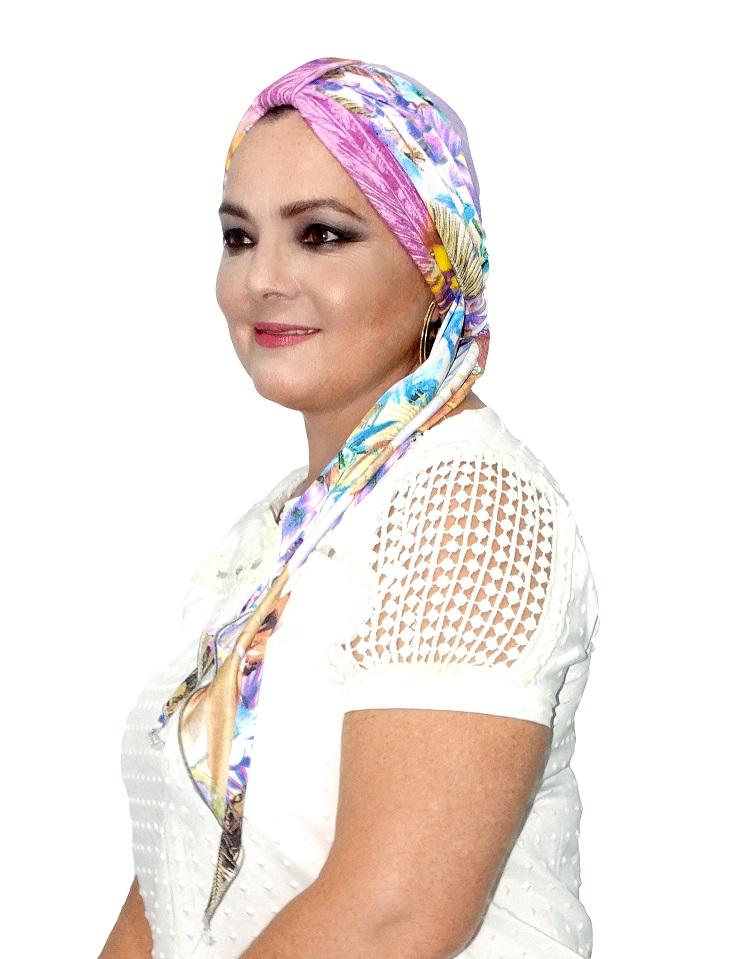 Turbante lenço - Coleção de Boutique Chique ( boutiquechique)  3844a97126f