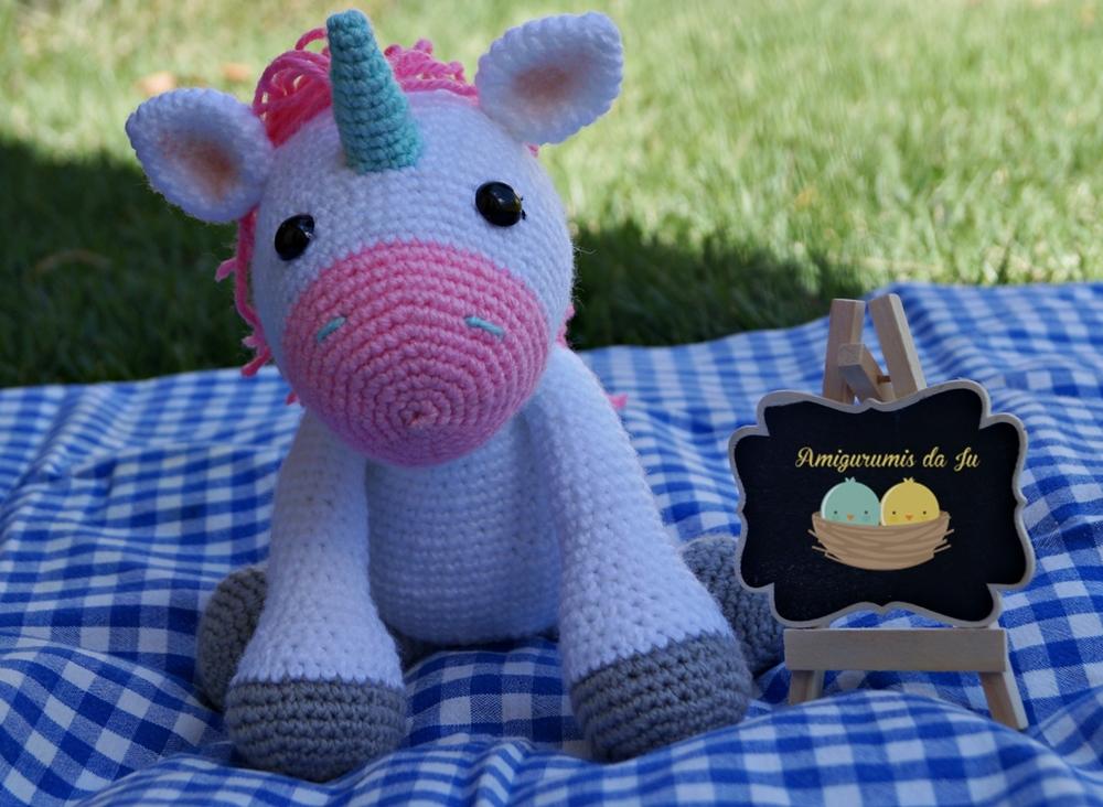 Você vai encontrar Amigurumi unicornio receita, amigurumi ... | 732x1000