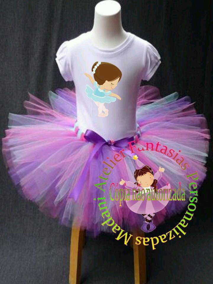 3ce3ca89d9 Fantasia tutu Bailarina ballet no Elo7