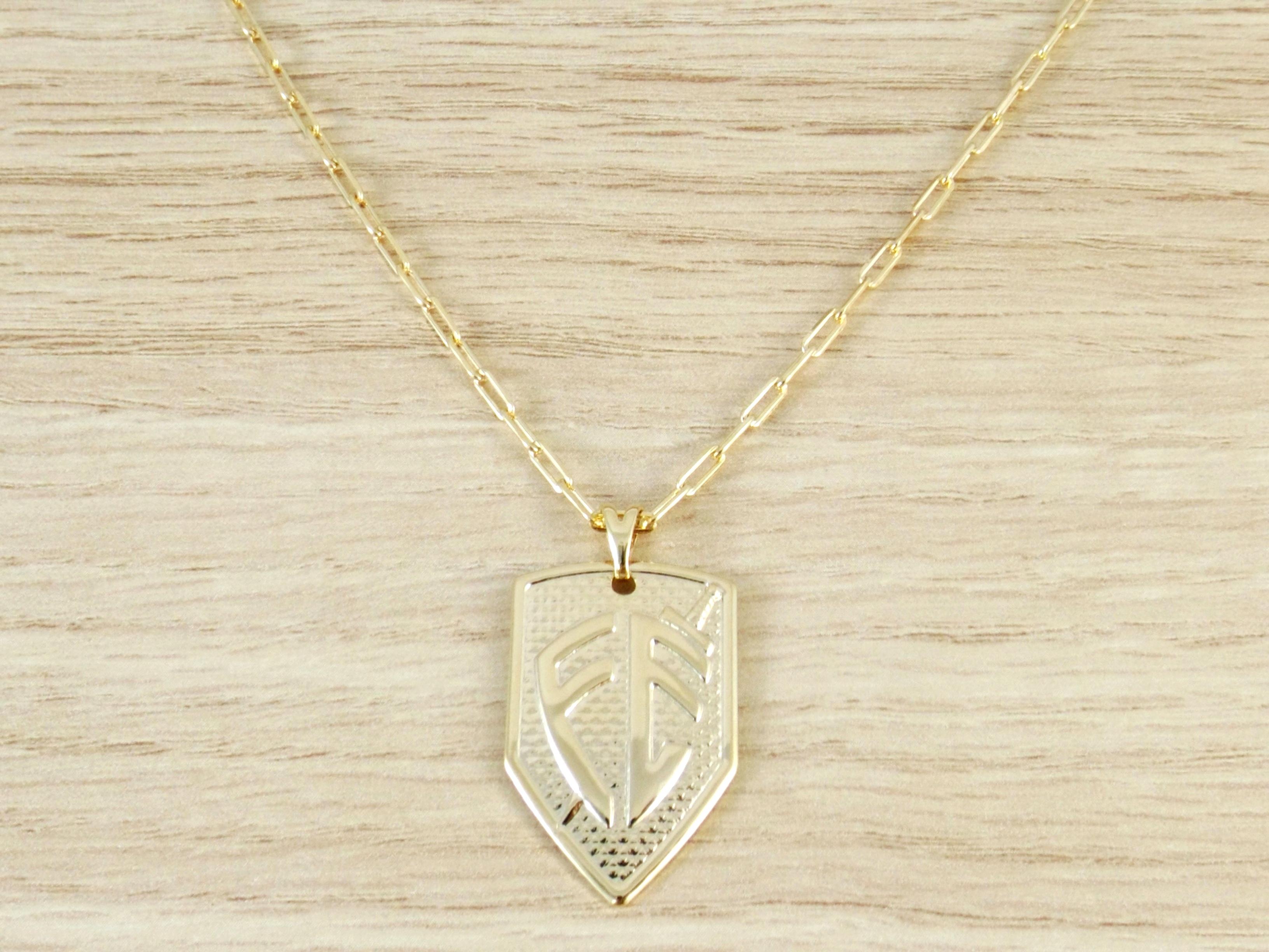 7dcb99be6a9 Kit Pingente Cruz com Corrente Cartier Diamantada Folheado