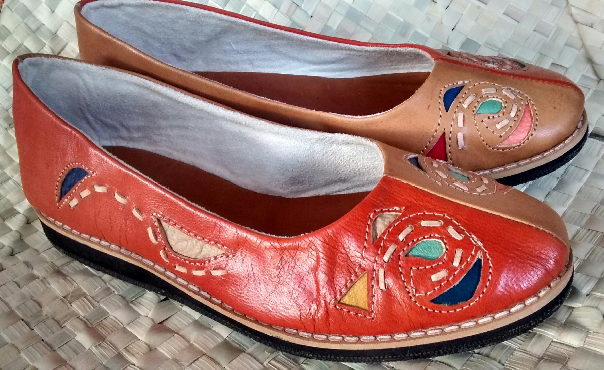 15b44fbae1 Sapato de Couro Maria Bonita no Elo7