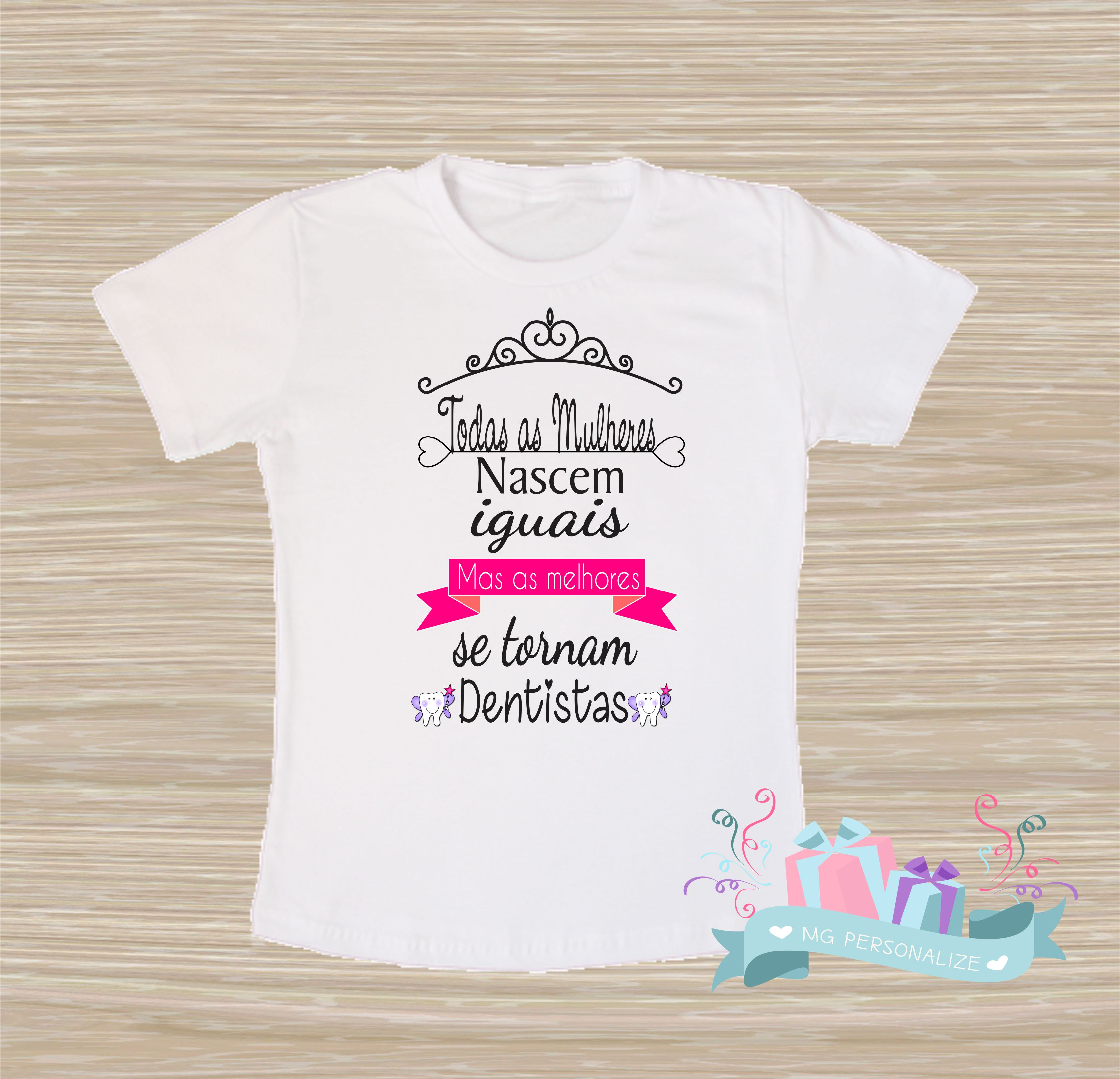 Camiseta Dentista  f32f4d1708d