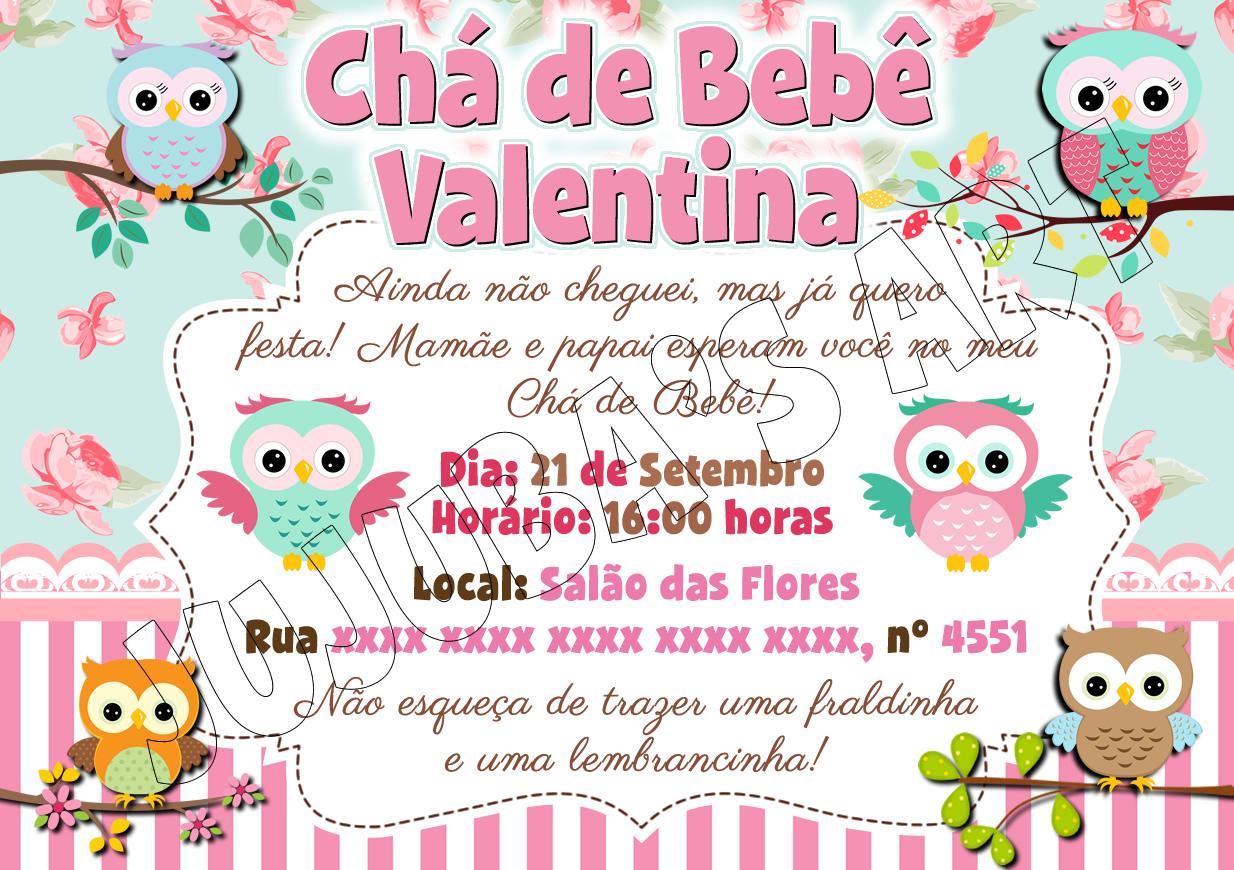 Convite Jardim Encantado Com Envelope No Elo7 Jujubas Art 90217b