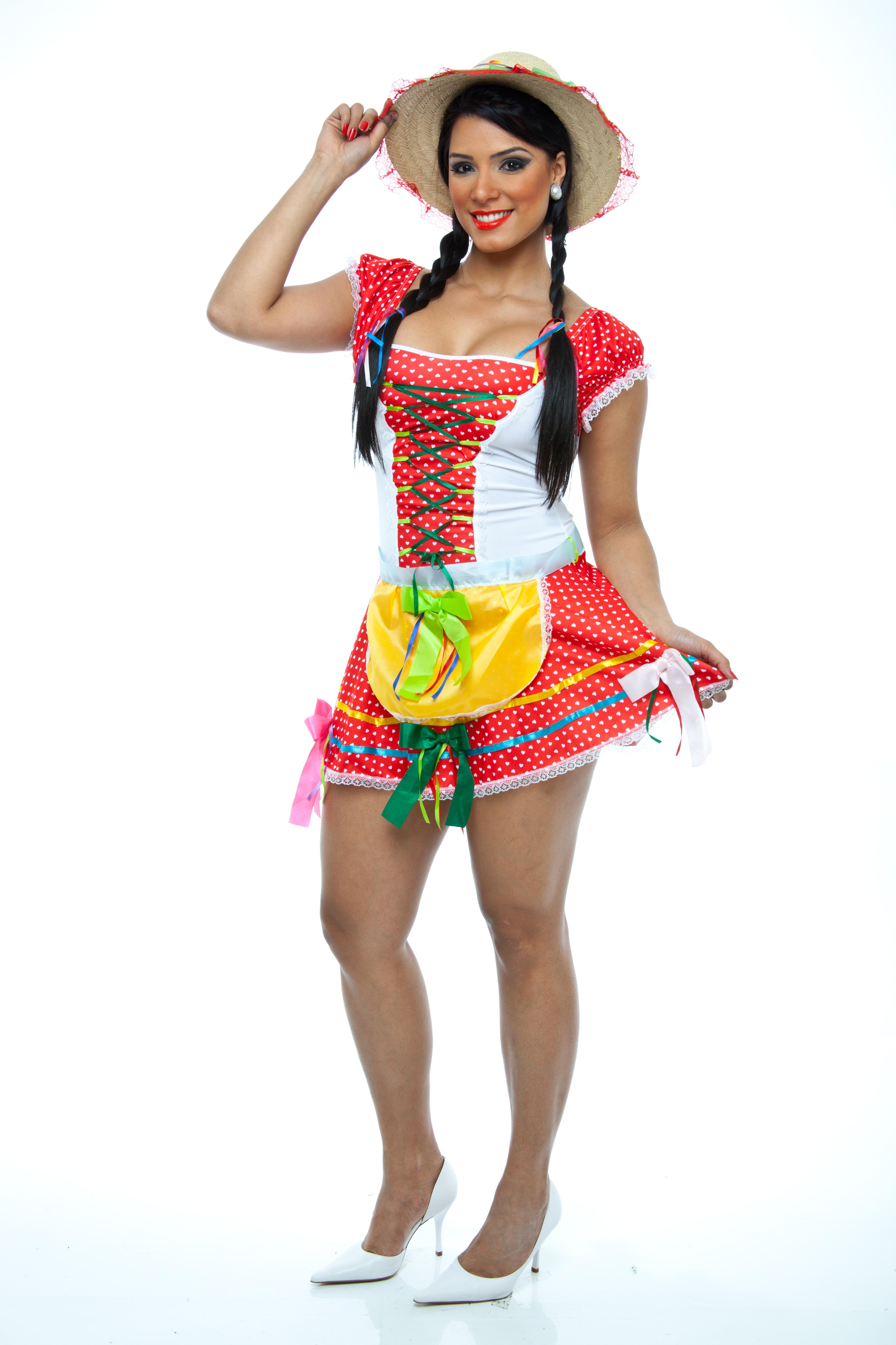 0e2c4d6937208 Vestido Festa Junina Adulto
