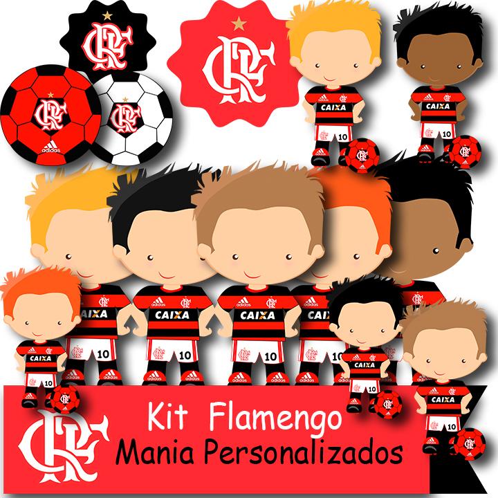 Kit Digital Flamengo No Elo7 Mania Personalizados 907f01