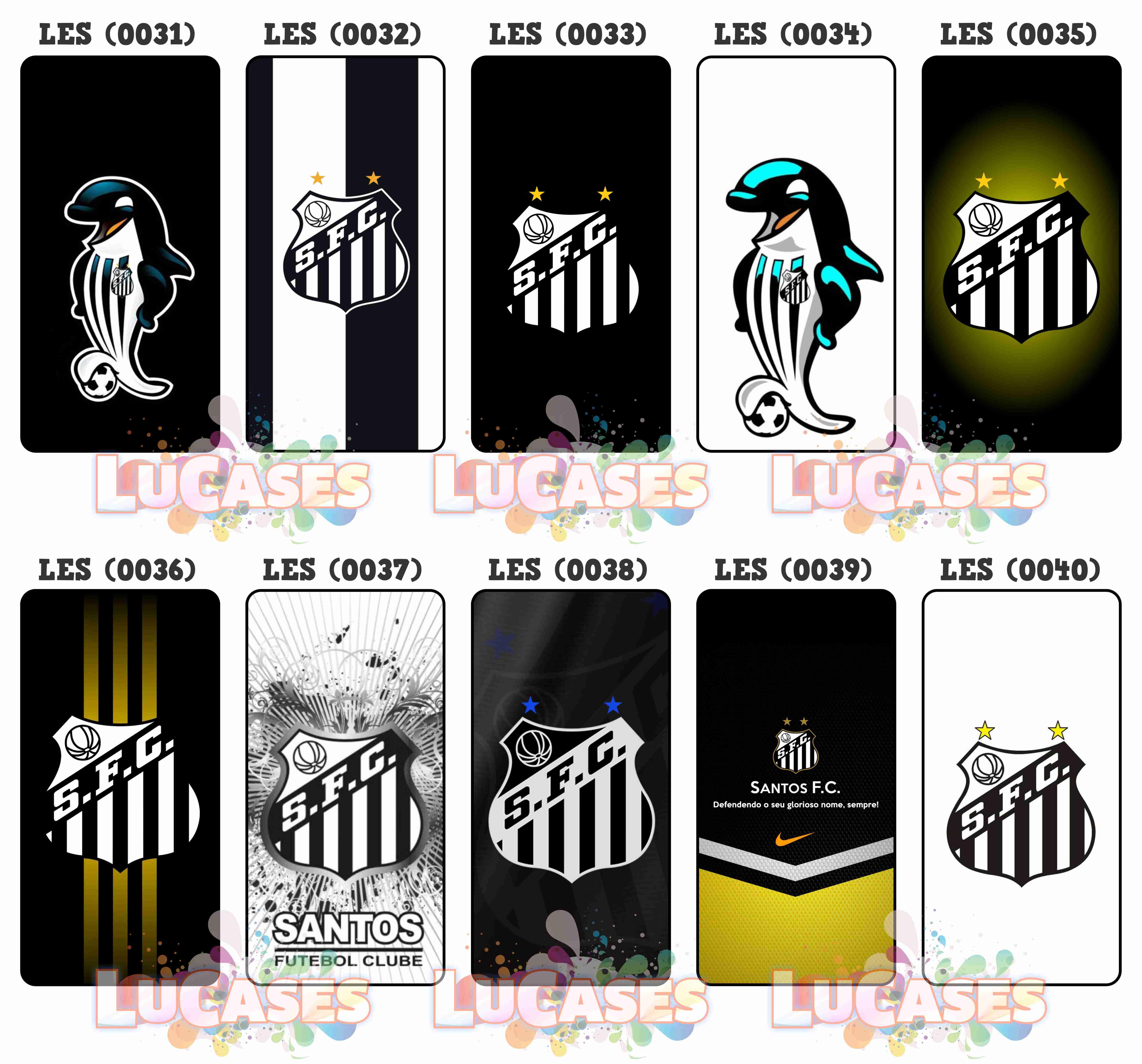 Capa de Celular Santos Fc Baleia Peixe  ab8abaff4f8