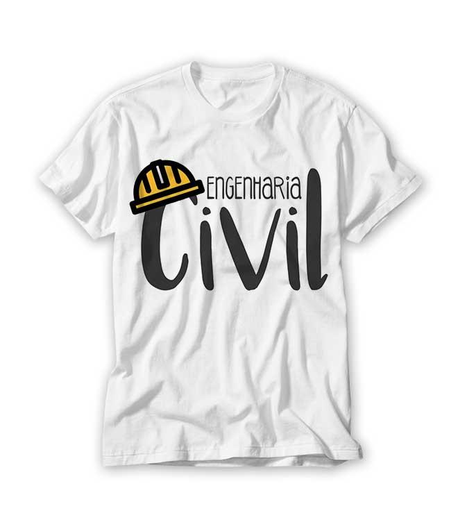 Camiseta Profissão Engenharia Civil No Elo7 Ra Produtos