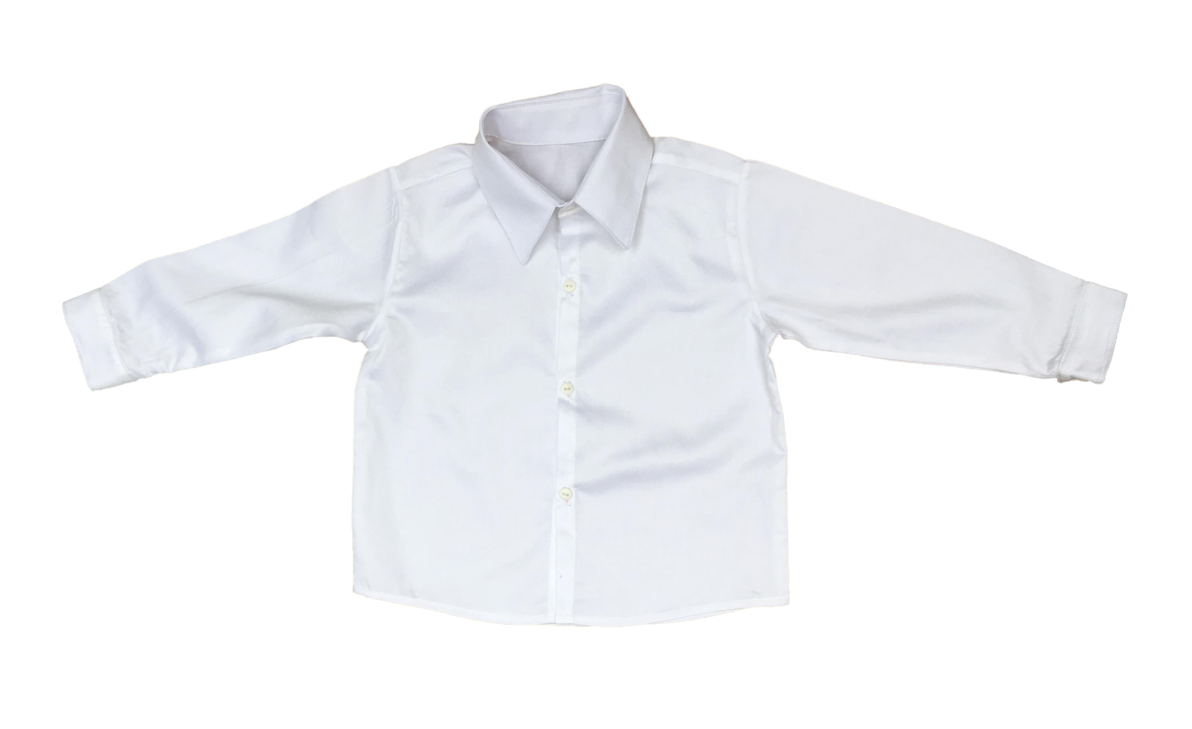 5d0fce6e3 Camisa Social Infantil  manga comprida no Elo7