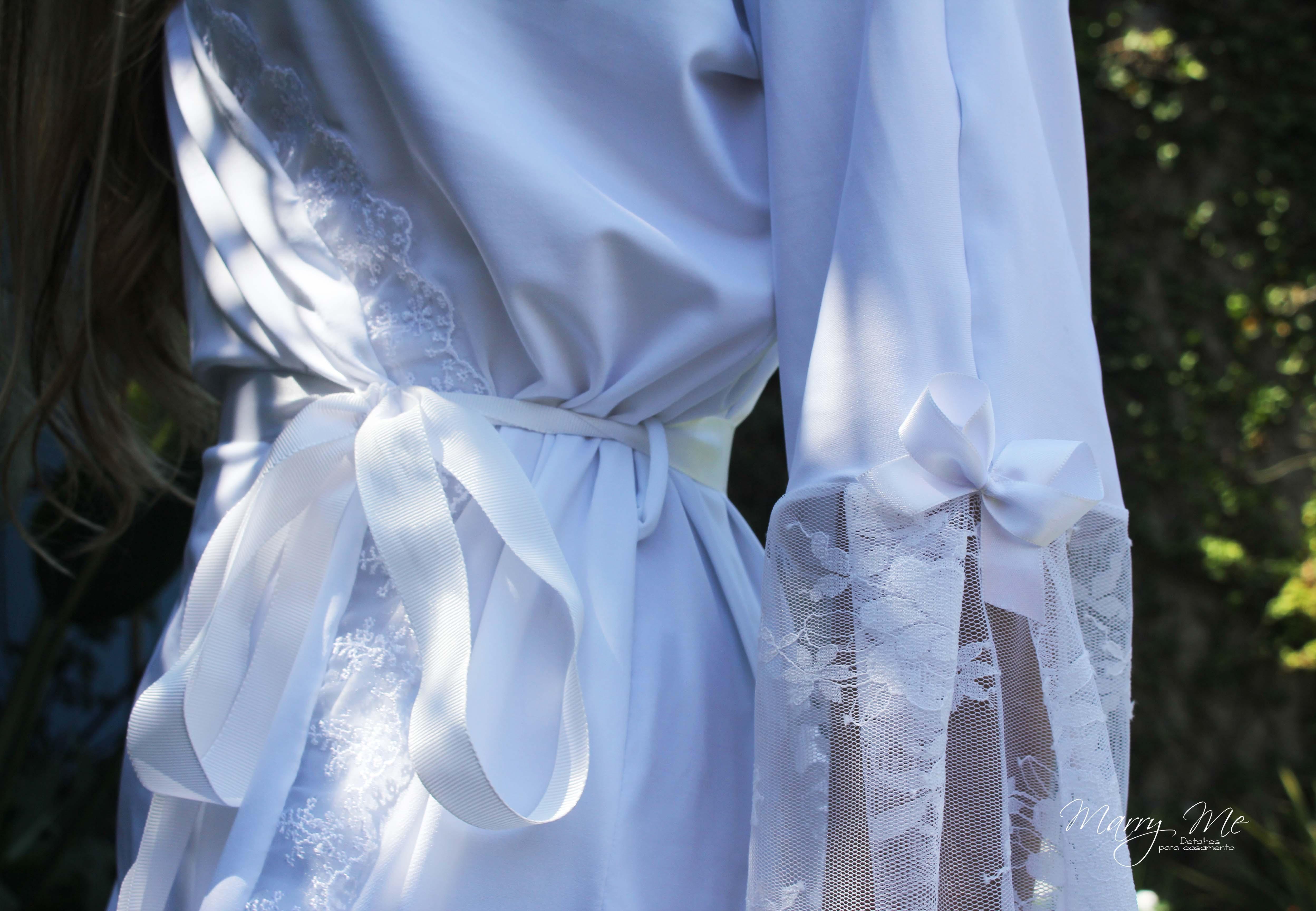 3165f647c48ded Robe Noiva Malha Fria - Modelo Giovanna