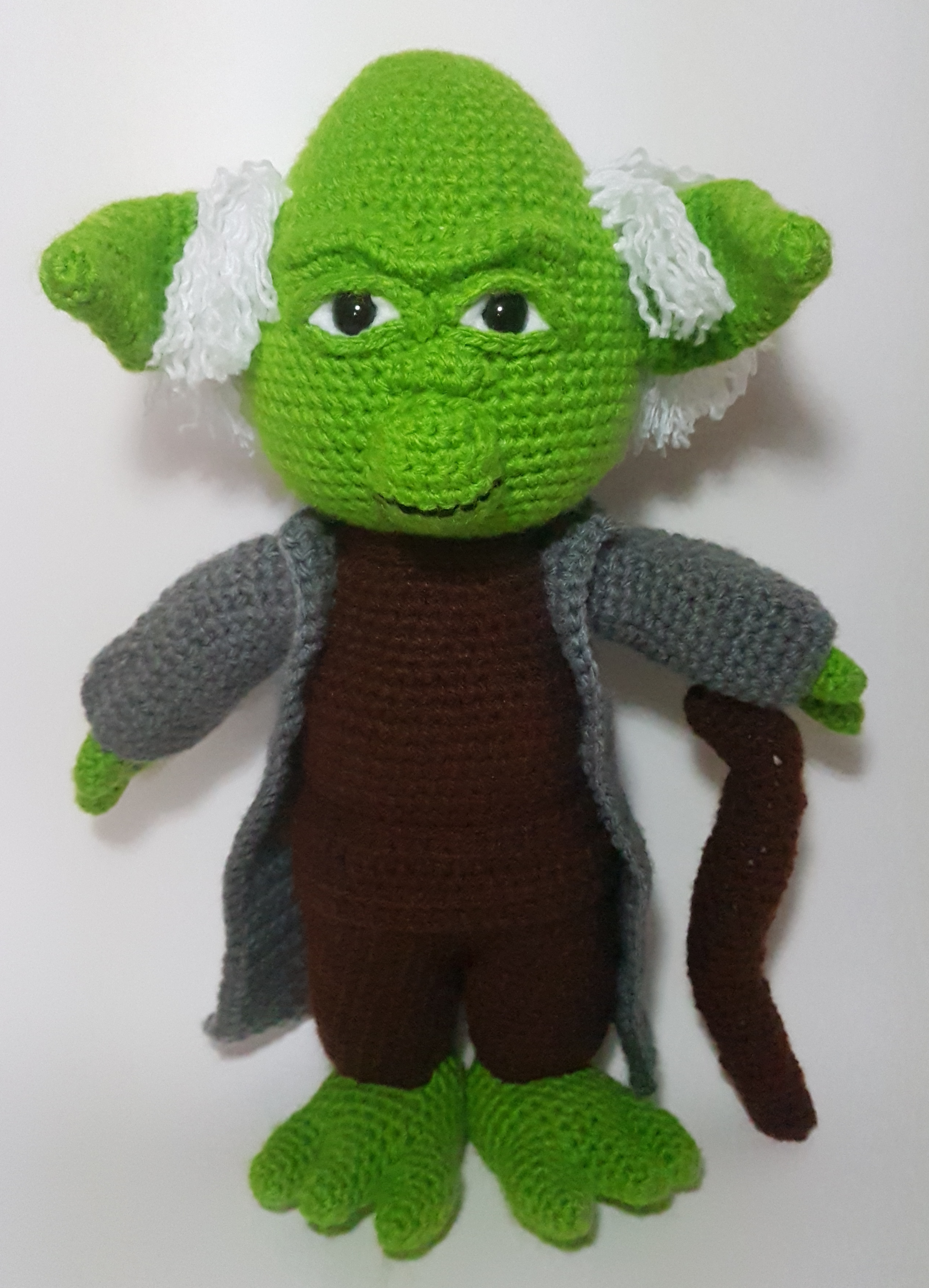 Amigurumi Mestre Yoda - Star Wars - R$ 80,00 em Mercado Livre   3536x2550
