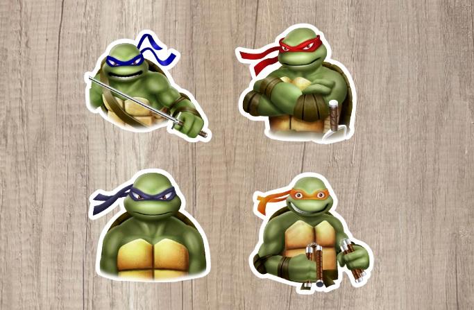Tartarugas Ninja Colecao De Artigo Fino Artigofino Elo7