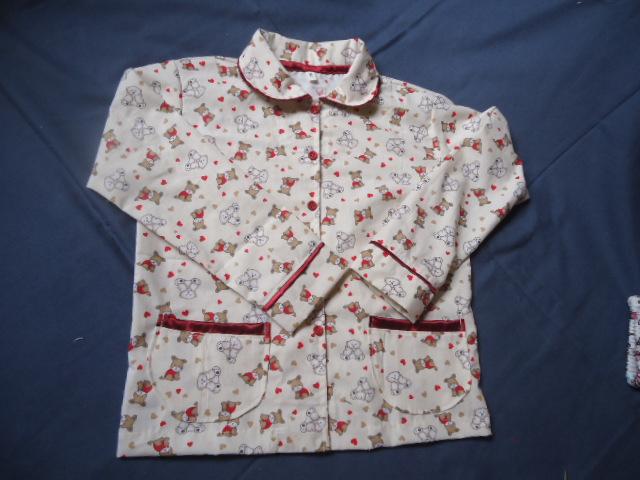 3aa77fd0c97749 Pijama 100% Algodão Infantil ursinho 06 ponta de estoque