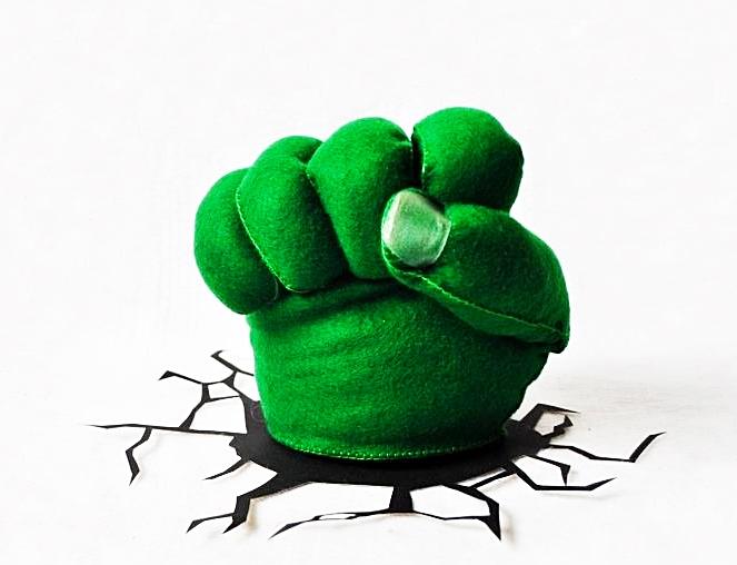 Molde Mao Do Hulk No Elo7 Moldes Dona Penguim 92a371